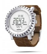 Cardiofréquencemètre avec bracelet cuir - Capacité mémoire : Données de 7 jours