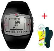Cardiofréquencemètre entrainement homme - Double fuseau horaire