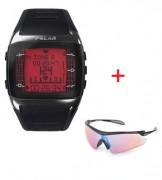 Cardiofréquencemètre montre altimètre GPS - Affichage de la FC en bpm ou en % FCmax