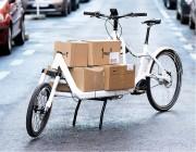 Cargo Bike électrique à deux roues  - Pour livraison avec capacité de charge 400 L
