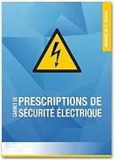 Carnet de prescriptions de sécurité électrique