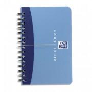 Carnet reliure intégrale couv PP 11Xx17 cm 180 pages réglure 5x5 OFFICE - oxford