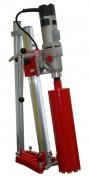 Carotteuse sur bâti électrique - Aluminium légère et orientable