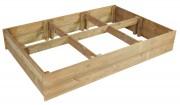Carré potager en bois pin - Hauteur : 30 cm -  Pin traité classe IV