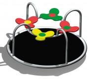 Carrousel manège pour enfants - Dimension (mm) : 1600 x Ø 800