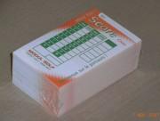 Carte de jeu pour minigolf - Paquet de 500 cartes