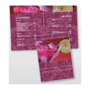 Carte de menu restaurant