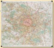 Carte de Paris et sa banlieue MICHELIN
