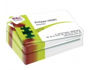 Carte de visite pvc transparent - Epaisseur (mm) : 0.25