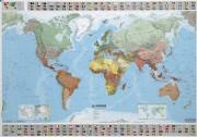 Carte du monde MICHELIN