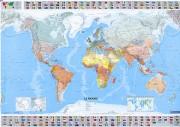 Carte géographique du monde