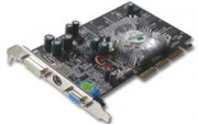 Carte graphique - Carte AGP nVidia Geforce FX5200 128Mo VGA