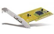 Carte PCI port USB supplémentaire 2 ext - Carte PCI port USB supplémentaire - 2 ext + 1 int