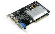 Carte vidéo AGP - Carte vidéo -  GeForce AGP FX6200 256M TV+DV