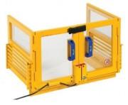Carter de protection pour presses - Avec micro-interrupteur de sécurité