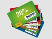 Cartes code barre - Matière : Polyester laminé brillant