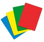 Carton d'arbitre en plastique - Lot de 4 cartons