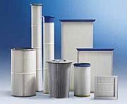 Cartouche filtrante montage emboitage - Régénération par brosses rotatives