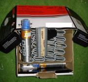 Cartouches pour clouteuse - 1000 crampons - Avec 2 cartouches de gaz
