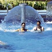 Cascade piscine DN 100 PVC - Hauteur - 2500 mm