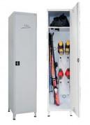 Casier à ski en acier - Longueur : 500 mm-Hauteur : 2200 mm