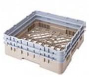 Casier de lavage objets creux - Hauteur extérieure du casier : de 10.1 à 22.5 cm