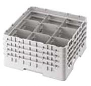 Casier de lavage pour verres 9 compartiments - 9 compartiments