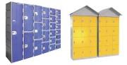 Casier de plage mural - Anti corrosion  -  Structure HDPE garantie 20 ans