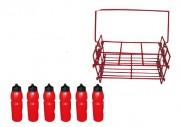 Casier de rangement pour bouteilles de sport - Contenance : 6 bouteilles de 750 ml