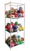 Casier rangement ballons - Contenance : 50 ballons