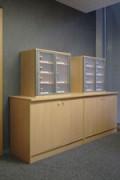 Casiers de tri courrier sur mesure - Conception et la réalisation d'une salle courrier personnalisée