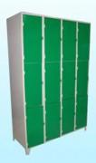 Casiers vestiaires multicases - 3 casiers par colonne