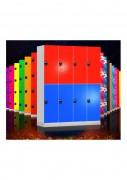 Casiers vestiaires plastique - Casiers vestiaires pour espaces sportifs