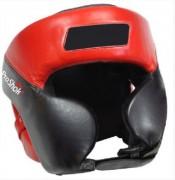 Casque de boxe - En rouge et noir
