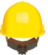 Casque de chantier jaune - Casque normalisé EN397 et ANSIZ89