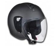 Casque de moto demi jet - Matériau : ABS   -  Taille : M (57 - 58 cm)
