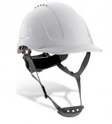 Casque de protection ABS - Fermeture roulette, harnais textile à 6 points
