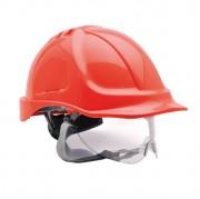 Casque de sécurité pour chantier - Ajustable (cm) :   56- 63 / 52-62