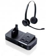 Casque sans fil Jabra PRO 9450 Flex Duo - Portée (m) : 150