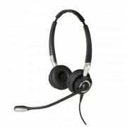 Casque téléphonique Jabra BIZ 2400 II QD Duo - Casque filaire ultra confortable avec micro antibruit