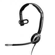 Casque téléphonique monaurale professionnel - Microphone anti-bruit
