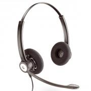 Casque téléphonique Plantronics Entera Duo - Casque professionnel 2 écouteurs- micro antibruit