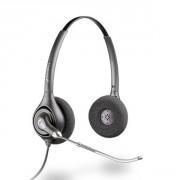 Casque téléphonique Plantronics Supra Plus Duo Antibruit - Casque 2 écouteurs idéal pour les environnements bruyants