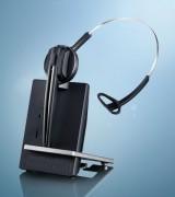 Casque téléphonique sans fil 1 écouteur - Portée : 180 mètres - Autonomie : 8 heures