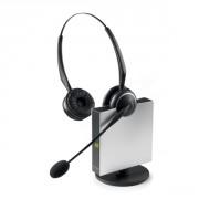 Casque téléphonique sans fil GN Netcom Jabra GN 9120 Flex Duo - Le casque sans fil 2 écouteurs pour milieu professionnel bruyant