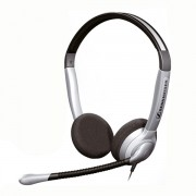 Casque téléphonique Sennheiser SH350 - Casque 2 écouteurs- micro antibruit pour une utilisation confortable