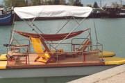 Catamaran électrique accessible aux handicapés
