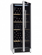 Cave à vin affichage digital - Capacité maximale : 160 bouteilles