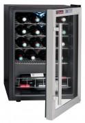 Cave à vin porte vitrée 20 bouteilles - Capacité maximale : 20 bouteilles