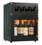 Cave à vin pour grands crus - Capacité : 4 bouteilles